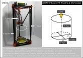 Rysunek techniczny drukarki 3D